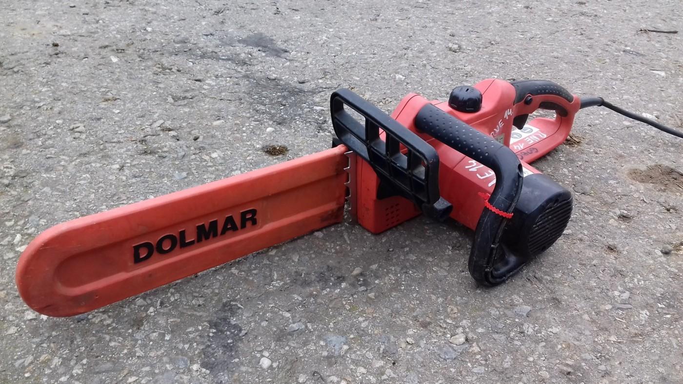 electric chainsaw dolmar es 38a set auctions